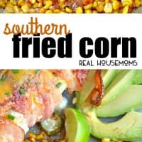 Southern Fried Corn is a simple recipe caramelizing corn and onions for a sweet side dish that you'll want to serve with all your favorite meals!