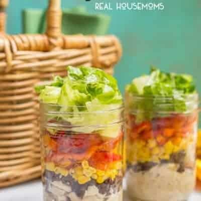 Southwestern Mason Jar Salad