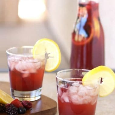 Sparkling Fruits Party Punch