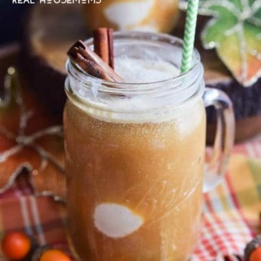 Spiced Apple Cider Floats