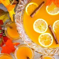Your holiday gatherings aren't complete until your serve up a bowl of Spiced Pumpkin Punch! This Fall punch is great for Halloween or Thanksgiving!