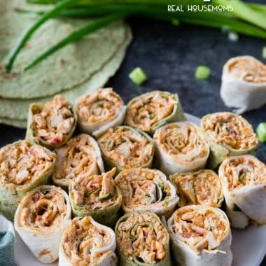 Spicy Chicken Tortilla Roll Ups