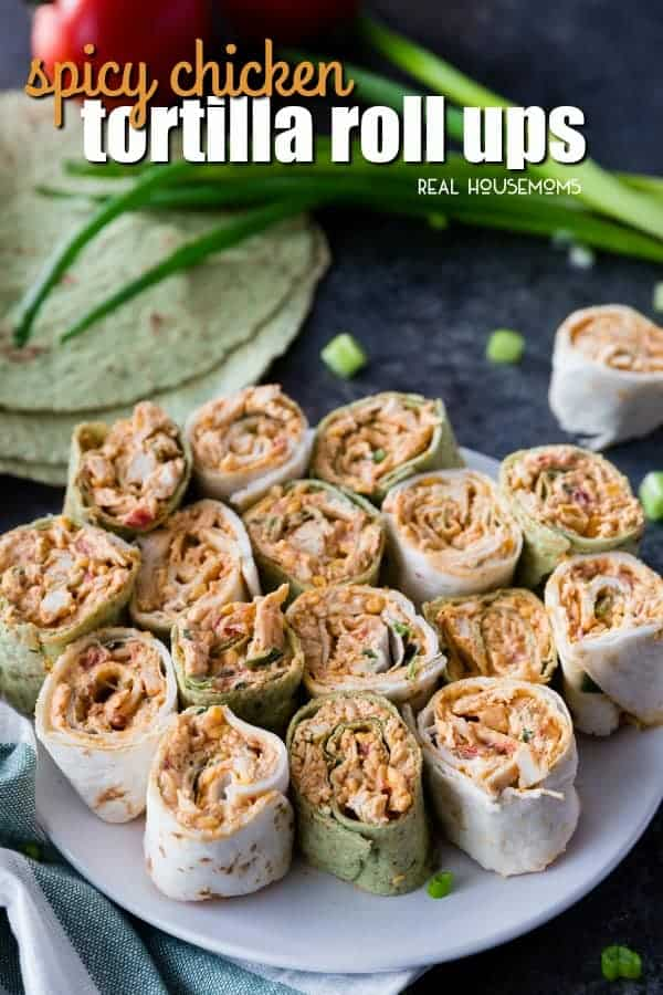 Spicy Chicken Tortilla Roll Ups With Video Real Housemoms