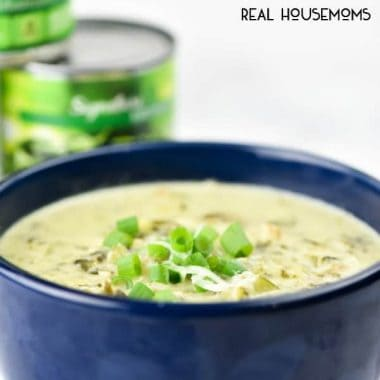 Spinach Artichoke Chicken Soup