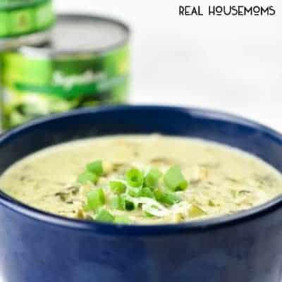 Spinach Artichoke Chicken Soup