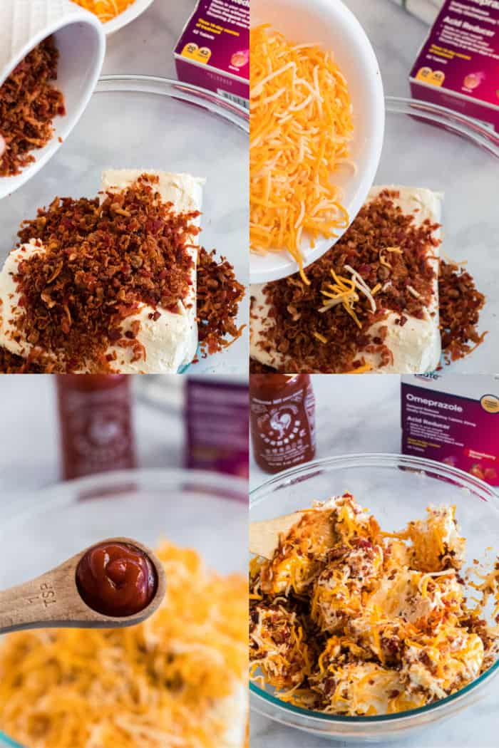 steps to make a cheese ball