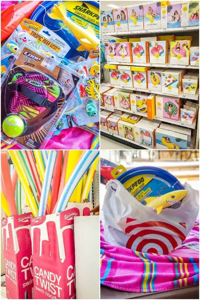 summer beach and pool products at target