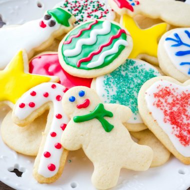 These Sugar Cookies are soft, buttery, and perfect for decorating. Learn all the tips for perfect cut out cookies every time!