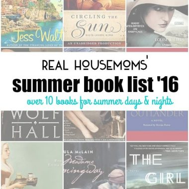 Your book list for the summer is all right here!