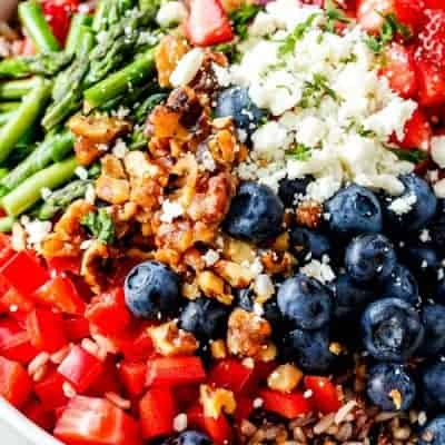 Summer Wild Rice Salad