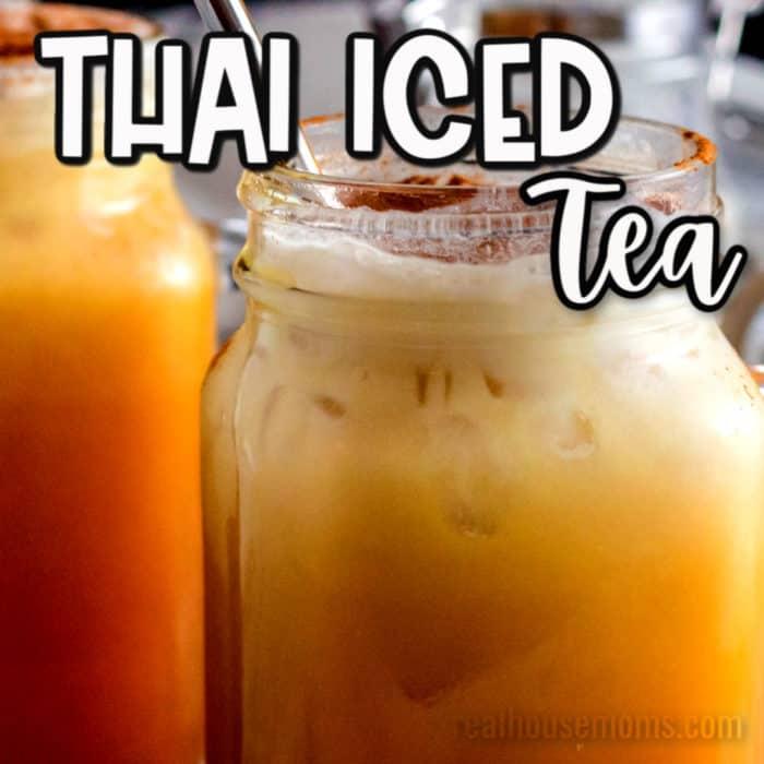square image of Thai Iced tea