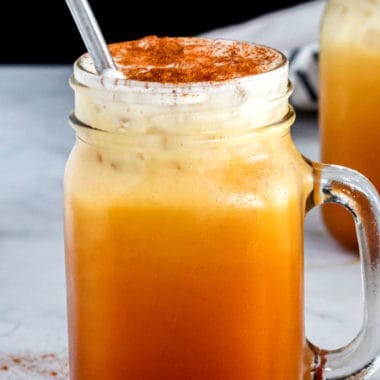 Creamy and sweet, this Thai Iced Tea recipe is the perfect cold drink to boost your energy while you sip on something delicious!