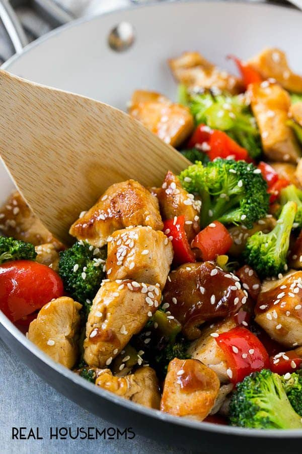 Teriyaki Chicken And Vegetables With Video Real Housemoms
