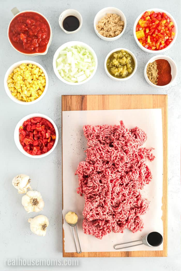 ingredients to make instant pot sloppy joes