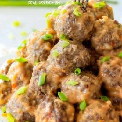 Thai Coconut Cocktail Meatballs