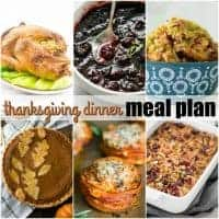 This Thanksgiving Dinner Meal Plan makes preparing the big meal a breeze! These recipes are tried-and-true family favorites and with our Thanksgiving Dinner timeline, you'll be ready to host without the stress!