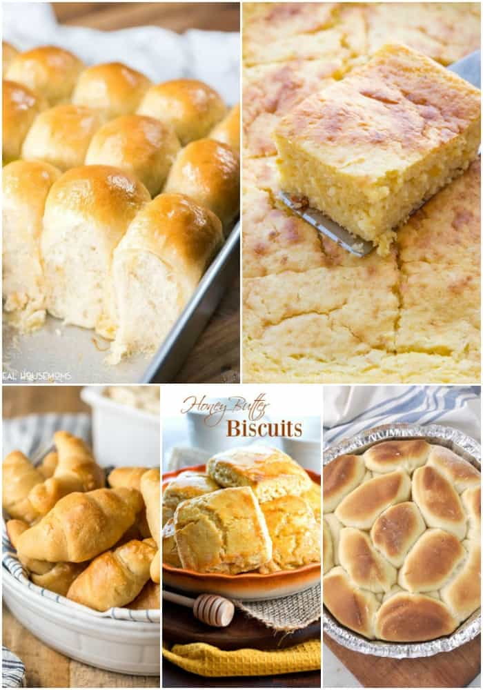 make ahead thanksgiving roll, biscuit, and cornbread recipes
