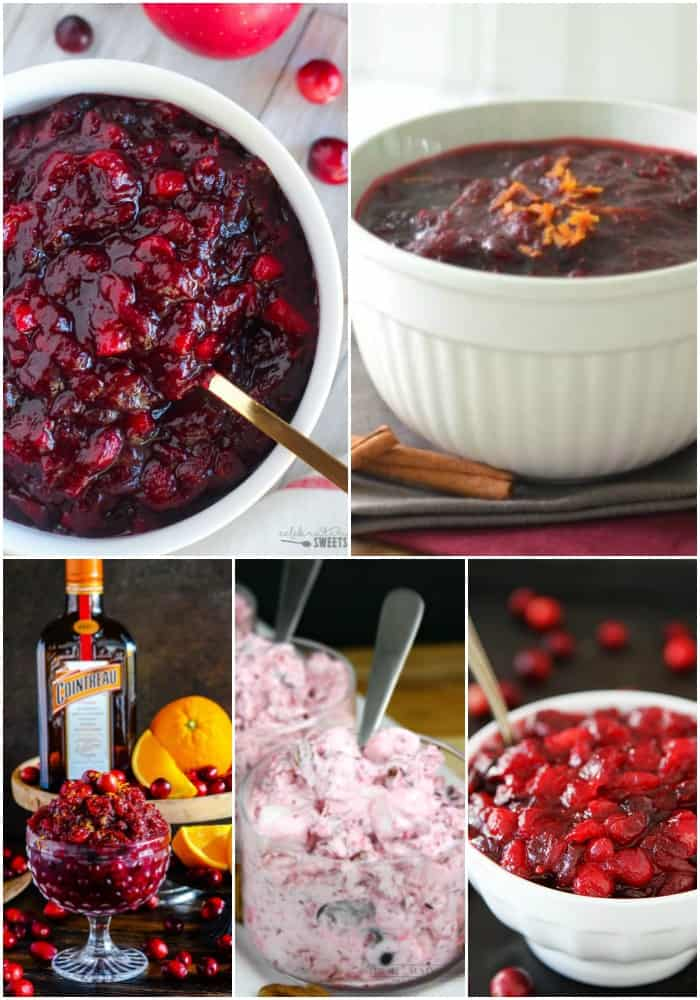 make ahead thanksgiving cranberry recipes