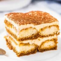 Learn how to make traditional Italian Tiramisu. With layers of creamy filling & coffee soaked ladyfingers - this tiramisu recipe is easier than you think!