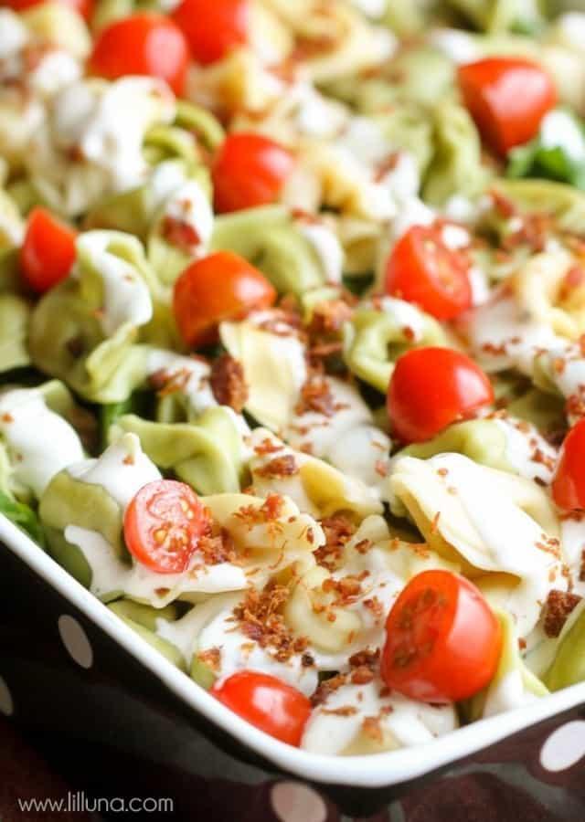 Tortellini Salad - Lil' Luna