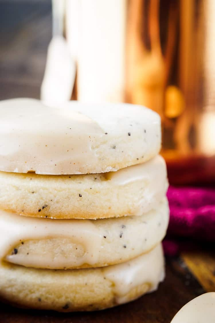 Vanilla Chai Shortbread Cookies from Sugar & Soul