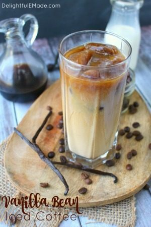 Vanilla Iced Coffee by Delightful E Made