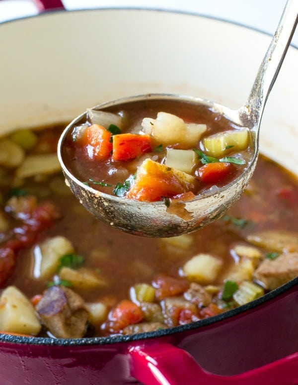 Vegetable Beef Soup - The Recipe Critic