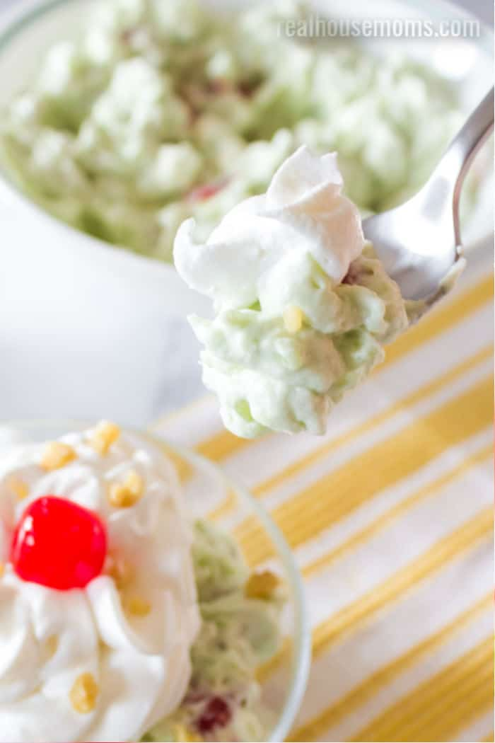 forkful of watergate salad