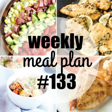 Weekly Meal Plan #133