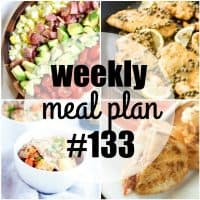 This week's meal plan is loaded with easy family favorites! Each mealis bursting with flavor and will have everyone coming back for seconds!