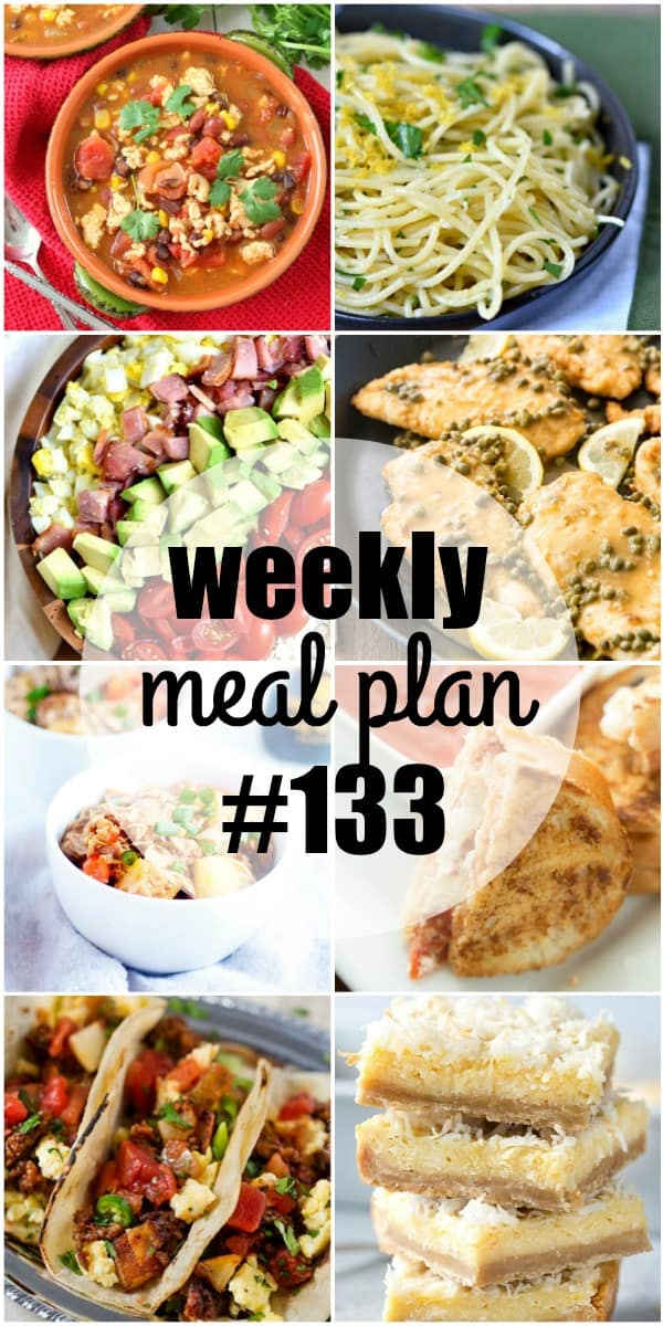 This week's meal plan is loaded with easy family favorites! Each meal is bursting with flavor and will have everyone coming back for seconds!
