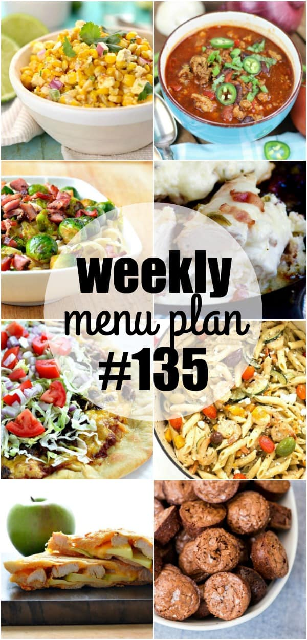 Who says dinner has to be boring? This week's meal plan recipes are packed with flavor and colors! A feastfor your eyes and stomach!