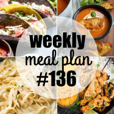 Colorful and packed with flavor, this week's meal plan recipes are a delight for the senses and are sure to satisfy the whole family!