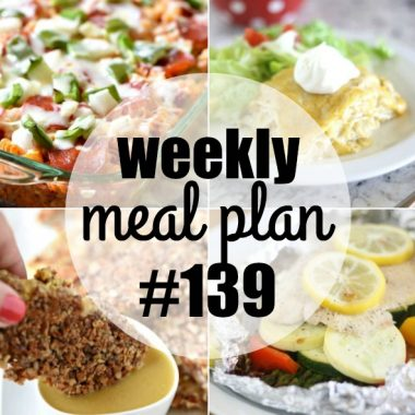 Weekly Meal Plan #139