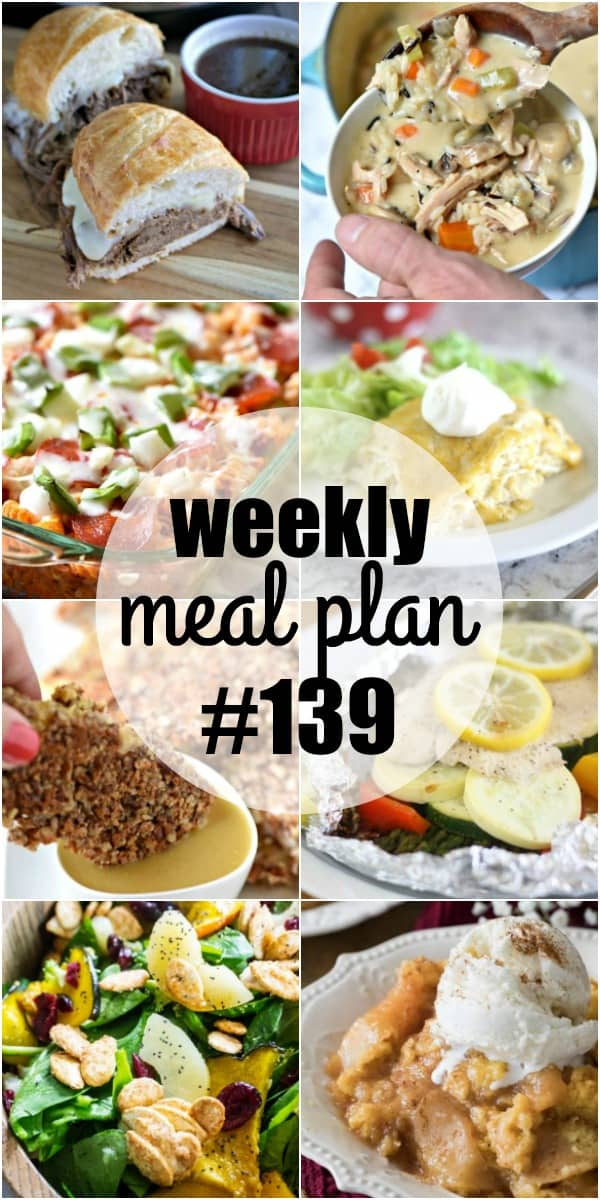 Simple dinnersthat are sure to become family favorites are the name of the game for this week's meal plan recipes!