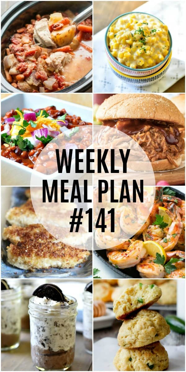 Easy recipes your family will rave about! This week's meal plan is all about family favorites that'll make tummies happy and put smiles on faces!
