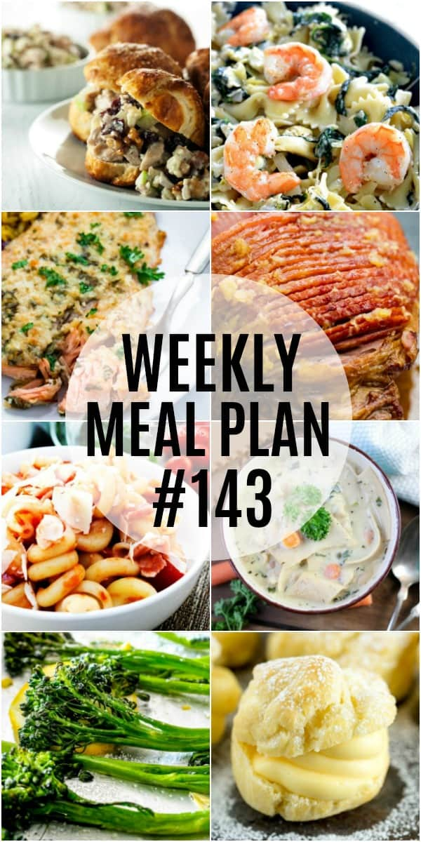 Up your flavor game for dinner! These weekly meal plan recipes are sure to make everyone say YUM!