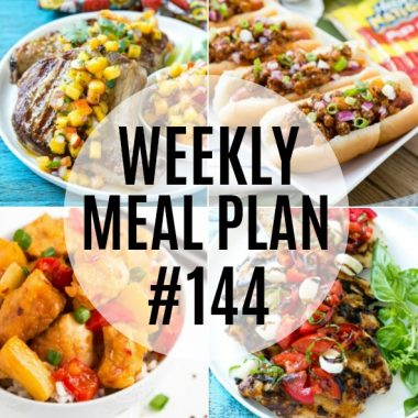 Weekly Meal Plan #144