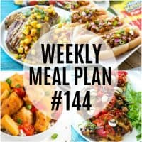 Fire up the grill and get cookin'! This week's Meal Plan recipes are easy to make and tried & true family favorites!
