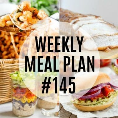Weekly Meal Plan #145