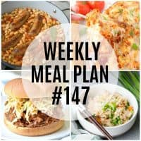 Comforting and delicious, this week's meal plan recipes will leave everyone will full tummies and hearts!
