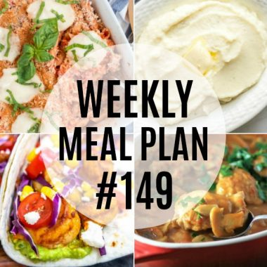 Weekly Meal Plan #149