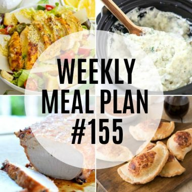 Weekly Meal Plan #155