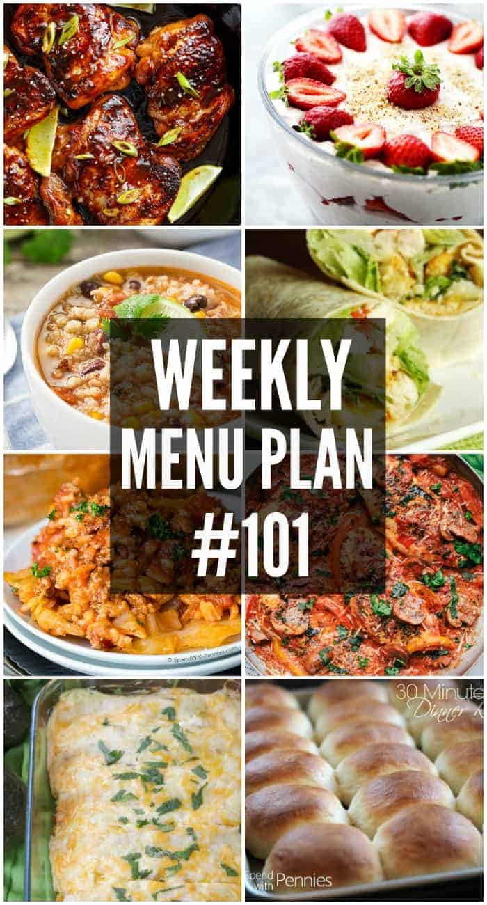 Your family will love this week's Menu Plan recipes! These dishes are sure-fire winners and will have everyone asking when you'll make them again!