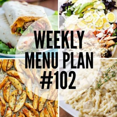 Get ready to have full bellies and a happy family at your dinner table when you make this week's menu plan recipes!