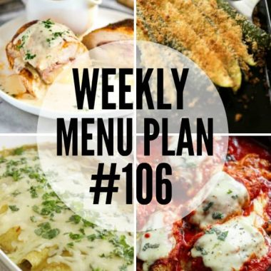 This week's menu plan recipes are delicious, easy, and sure to rave reviews from your family!