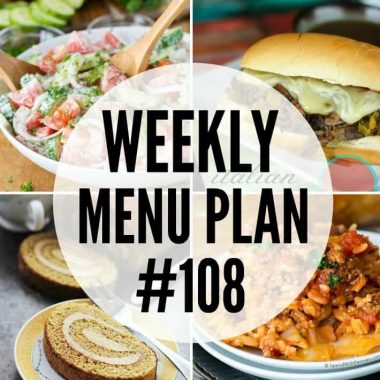 These family favorite recipes will make putting together your weekly menu plan a breeze!