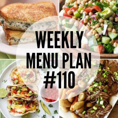 This week's menu plan recipes are easy to make, delicious to eat, and guaranteed winners with the family!