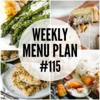 Lighten up your dinners with this week's Menu Plan recipes!