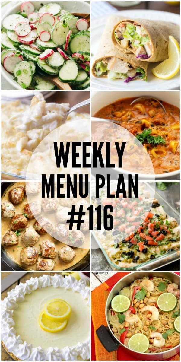 Everyone will come running to the dinner table for this week's menu plan recipes!
